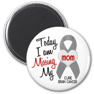 Brain Cancer Missing Miss My Mom 1 Refrigerator Magnet