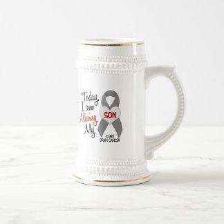 Brain Cancer Missing Miss My Son 1 Coffee Mug