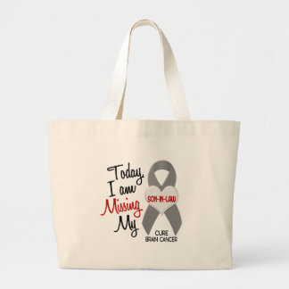 Brain Cancer Missing Miss My Son-In-Law 1 Tote Bags