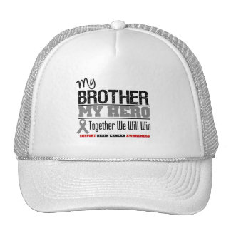 Brain Cancer My Brother My Hero Mesh Hat