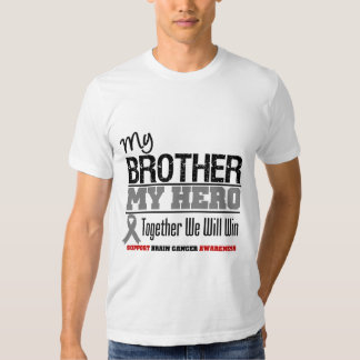 Brain Cancer My Brother My Hero T-shirt
