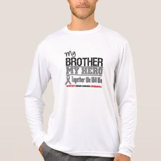 Brain Cancer My Brother My Hero Tee Shirt