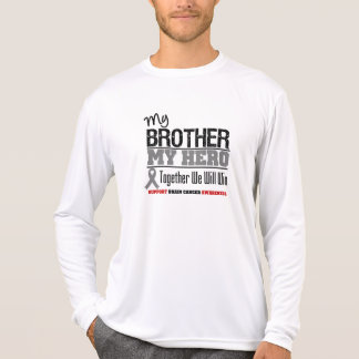 Brain Cancer My Brother My Hero Tshirt