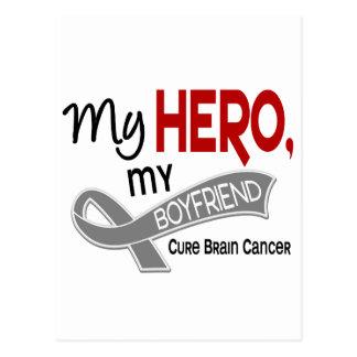 Brain Cancer MY HERO MY BOYFRIEND 42 Postcard
