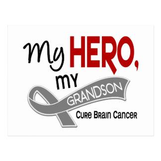 Brain Cancer MY HERO MY GRANDSON 42 Postcard