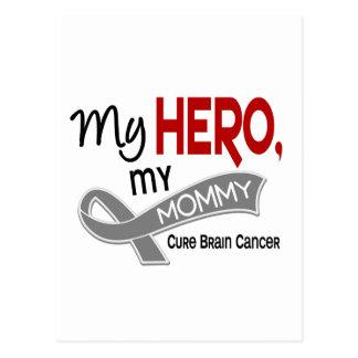 Brain Cancer MY HERO MY MOMMY 42 Postcard