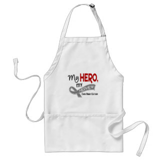 Brain Cancer MY HERO MY NEPHEW 42 Adult Apron