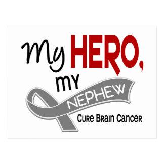Brain Cancer MY HERO MY NEPHEW 42 Postcard