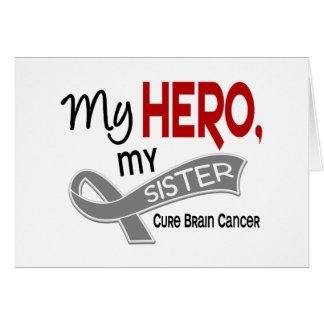 Brain Cancer MY HERO MY SISTER 42 Card