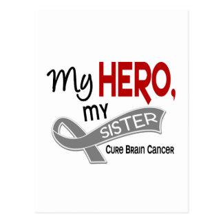 Brain Cancer MY HERO MY SISTER 42 Postcard