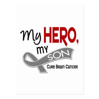 Brain Cancer MY HERO MY SON 42 Postcard