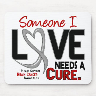 Brain Cancer NEEDS A CURE 2 Mouse Mats