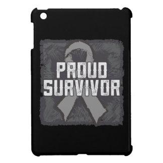 Brain Cancer Proud Survivor iPad Mini Covers