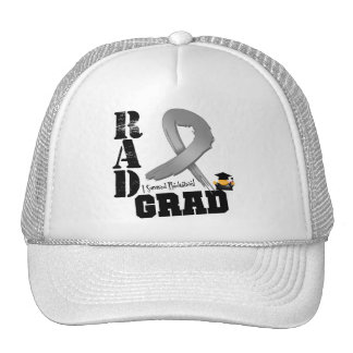Brain Cancer Radiation Therapy RAD Grad Hats