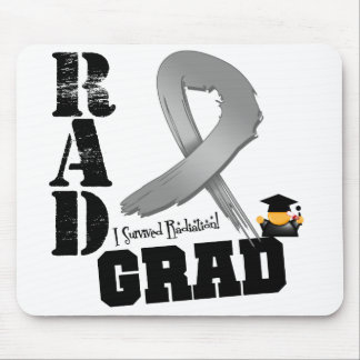 Brain Cancer Radiation Therapy RAD Grad Mouse Pads