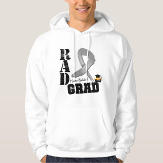 Brain Cancer Radiation Therapy RAD Grad Sweatshirt