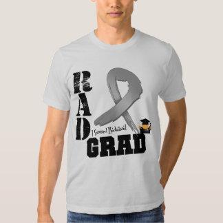 Brain Cancer Radiation Therapy RAD Grad T-shirts