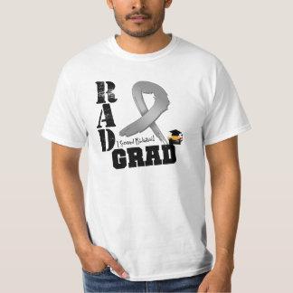 Brain Cancer Radiation Therapy RAD Grad Tee Shirt