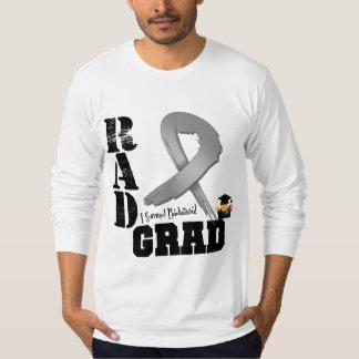 Brain Cancer Radiation Therapy RAD Grad Tee Shirts