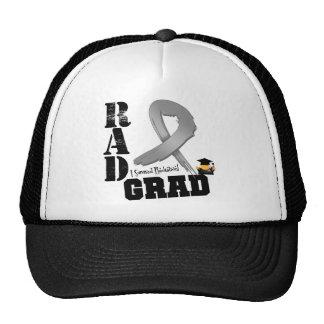 Brain Cancer Radiation Therapy RAD Grad Trucker Hat