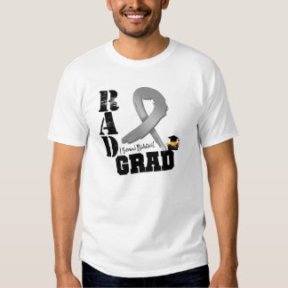 Brain Cancer Radiation Therapy RAD Grad Tshirt