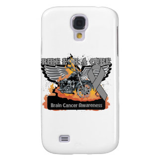 Brain Cancer Ride For a Cure Galaxy S4 Cases