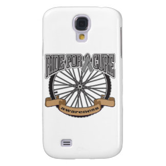 Brain Cancer Ride For Cure Galaxy S4 Case