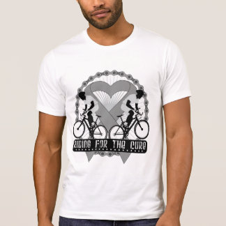 Brain Cancer Riding For The Cure T-shirt