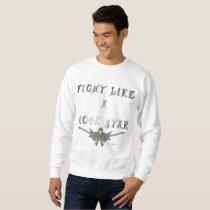 Brain Cancer Rock Star Men's Sweatshirt