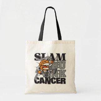 Brain Cancer - Slam Dunk Cancer Tote Bags