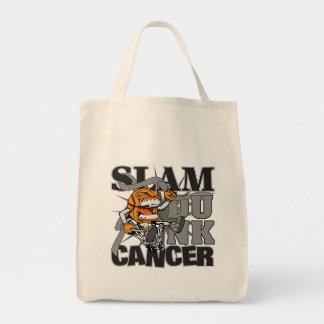 Brain Cancer - Slam Dunk Cancer Tote Bag