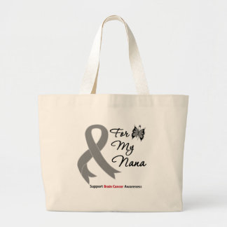 BRAIN CANCER SUPPORT For My Nana Tote Bags