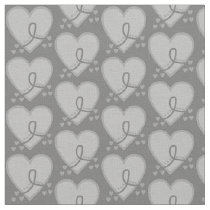 Brain Cancer Survival Heart Fabric