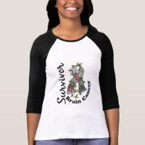 Brain Cancer Survivor 15 T-Shirt