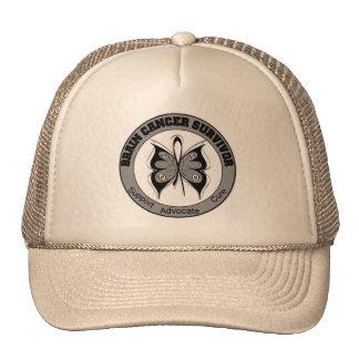 Brain Cancer Survivor Butterfly Hat