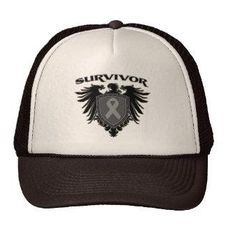 Brain Cancer Survivor Crest Mesh Hats