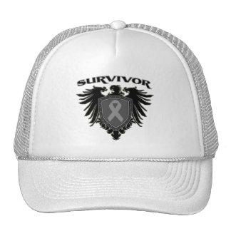 Brain Cancer Survivor Crest Trucker Hat