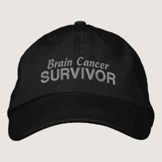 Brain Cancer Survivor Embroidered Baseball Hat