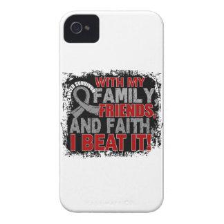 Brain Cancer Survivor Family Friends Faith iPhone 4 Case
