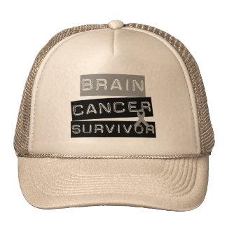 Brain Cancer Survivor Trucker Hats