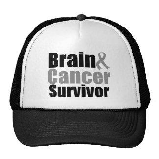 Brain Cancer SURVIVOR Trucker Hat