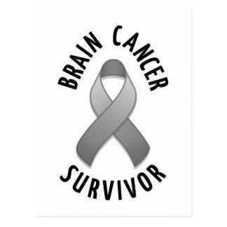 Brain Cancer Survivor Postcard