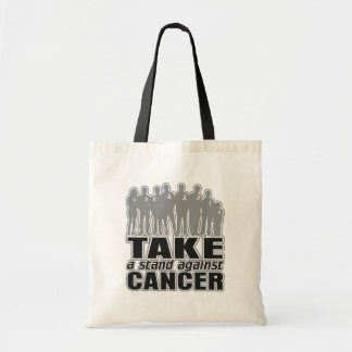 Brain Cancer -Take A Stand Against Cancer Tote Bags