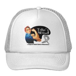 Brain Cancer Take a Stand Mesh Hats