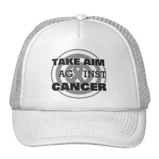 Brain Cancer Take Aim Against Cancer Trucker Hat