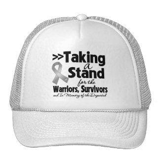Brain Cancer Taking a Stand Tribute Mesh Hats