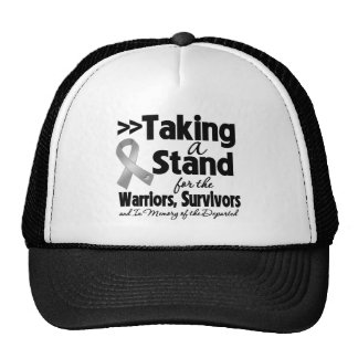Brain Cancer Taking a Stand Tribute Trucker Hat