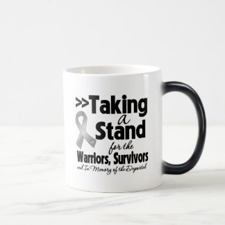 Brain Cancer Taking a Stand Tribute Coffee Mugs