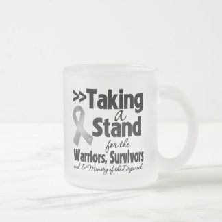 Brain Cancer Taking a Stand Tribute Mugs