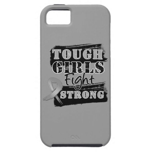 Brain Cancer Tough Girls Fight Strong iPhone 5 Cover